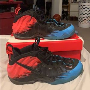 Nike SpiderMan Foamposite size 11.5